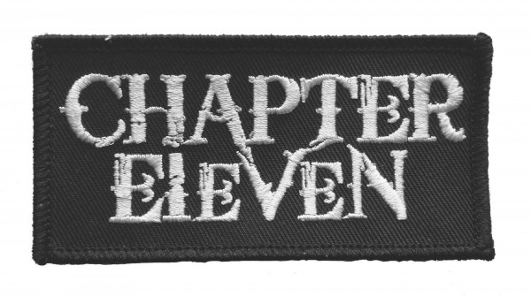 CHAPTER ELEVEN - Logo Patch Aufnäher
