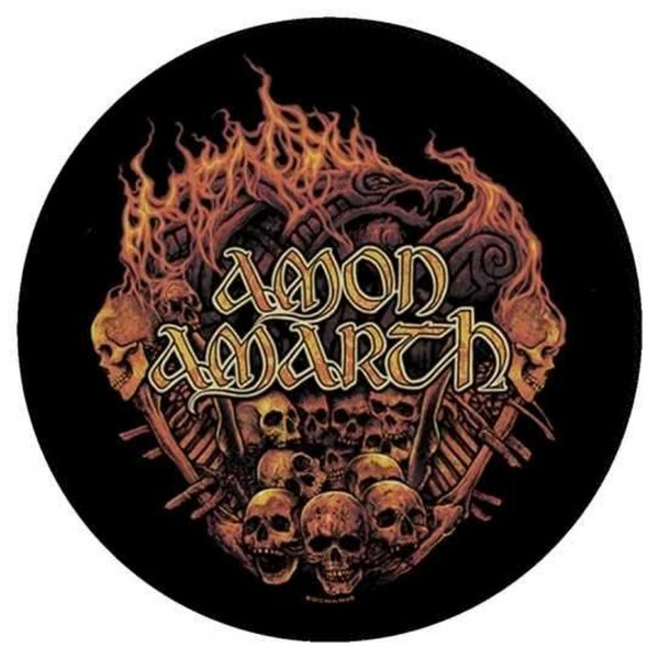 AMON AMARTH - Battlefield Backpatch Rückenaufnäher