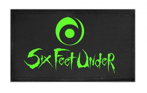 SIX FEET UNDER - Logo Patch Aufnäher