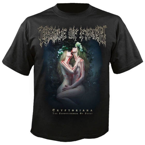 CRADLE OF FILTH - Savage waves of exstasy T-Shirt