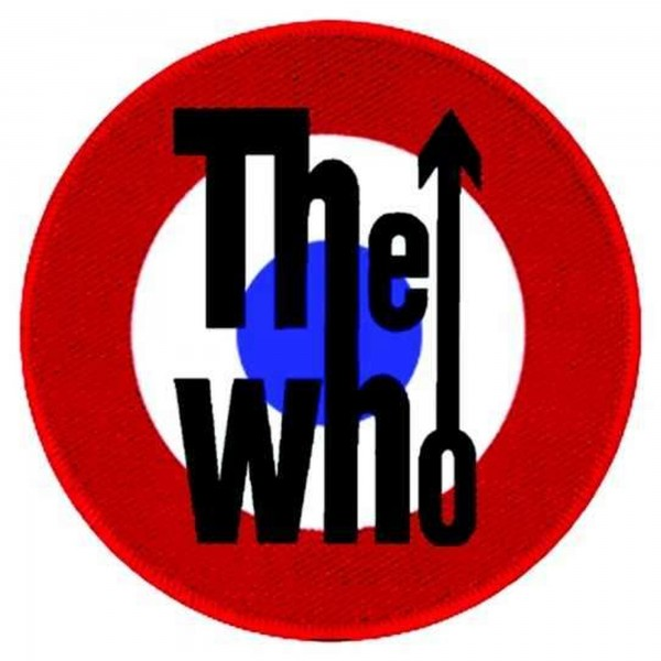 THE WHO - Target Backpatch Rückenaufnäher