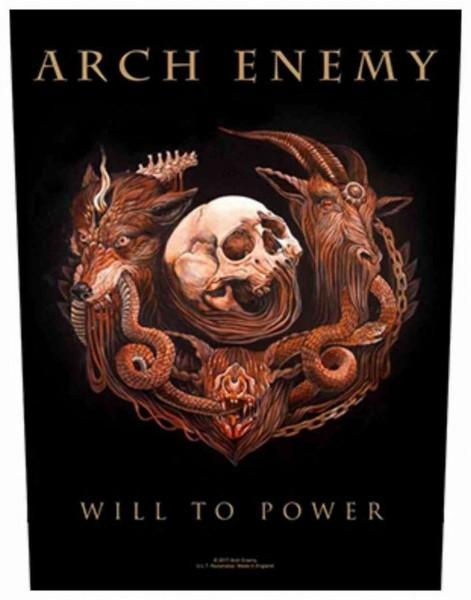 ARCH ENEMY - Will To Power Backpatch Rückenaufnäher