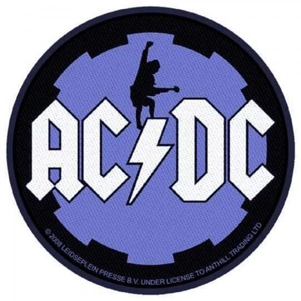 AC/DC - Black ice rund Patch Aufnäher