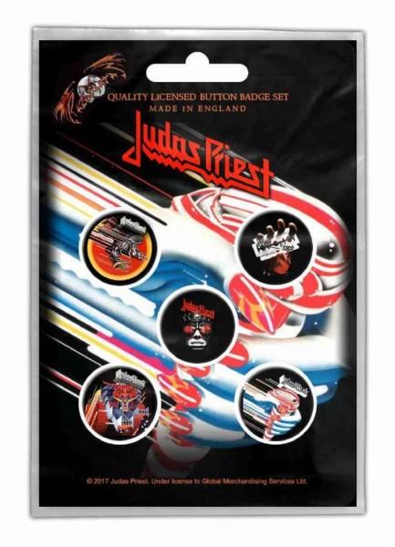 JUDAS PRIEST - Turbo Button-Set Badge Pack