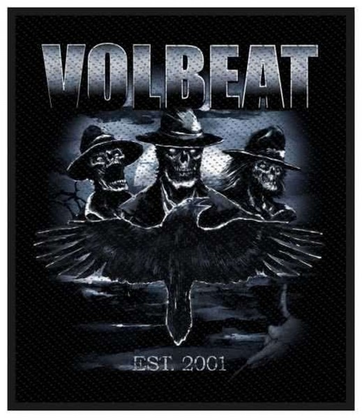 VOLBEAT - Outlaw Raven Patch Aufnäher