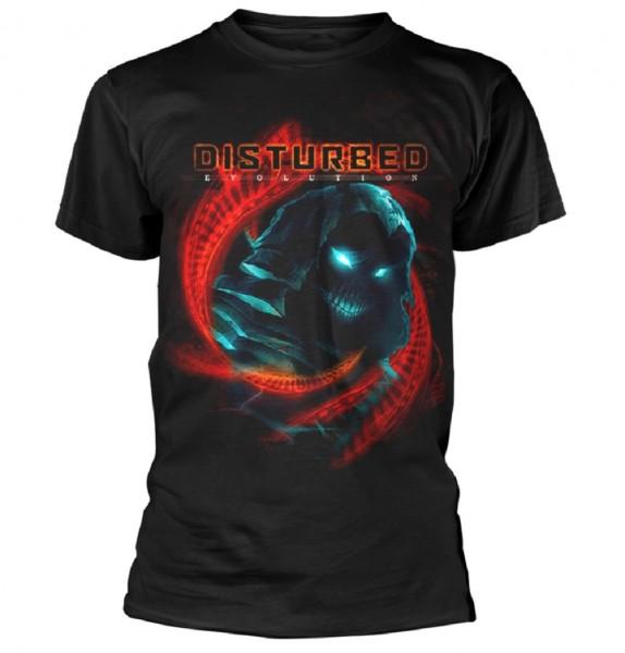 DISTURBED - D N A Swirl T-Shirt