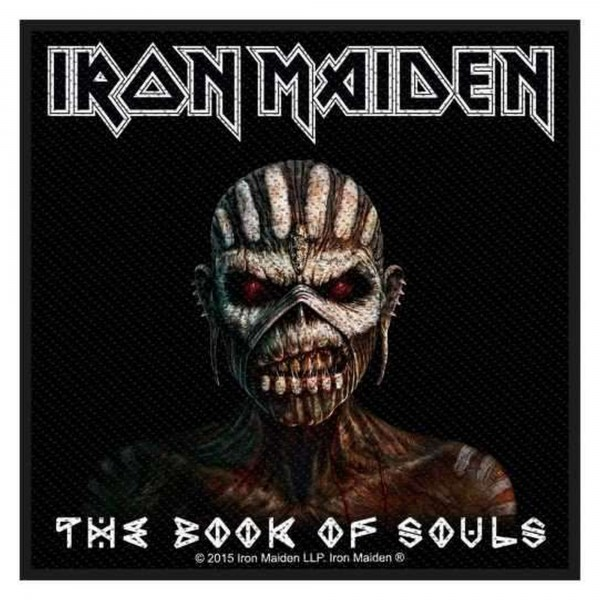 IRON MAIDEN - The Book Of Souls Patch Aufnäher