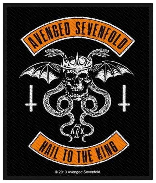 AVENGED SEVENFOLD - Hail To The King Patch Aufnäher