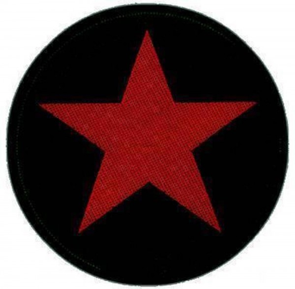 CHE GUEVARA - red star Patch Aufnäher