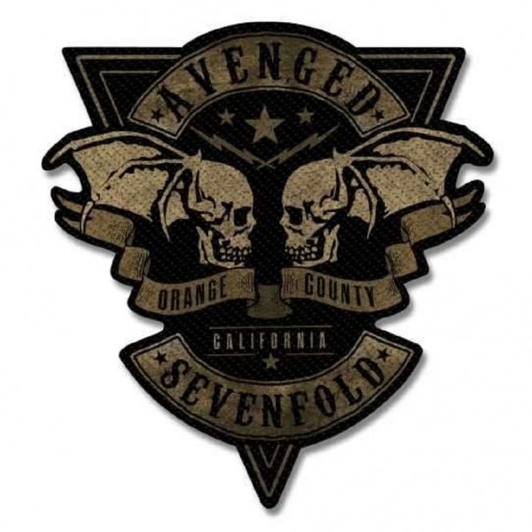 AVENGED SEVENFOLD - Orange County Cut Out Patch Aufnäher