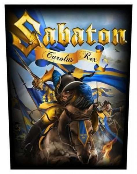SABATON - Carolus Rex Backpatch Rückenaufnäher