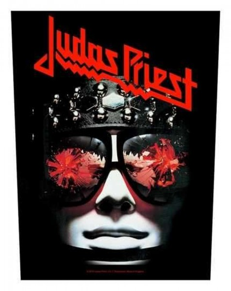 JUDAS PRIEST - Hell Bent For Leather Backpatch Rückenaufnäher