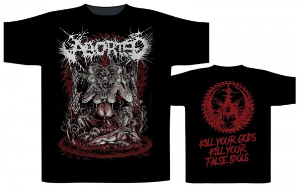 ABORTED - Baphomet T-Shirt