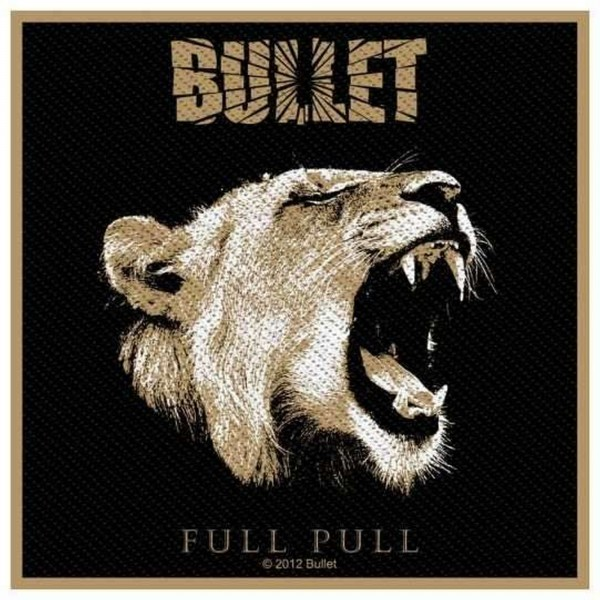 BULLET - Full Pull Patch Aufnäher