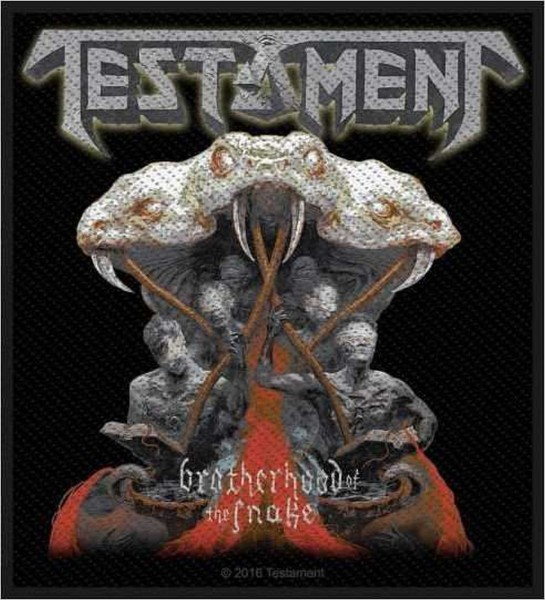 TESTAMENT - Brotherhood Of The Snake Patch Aufnäher