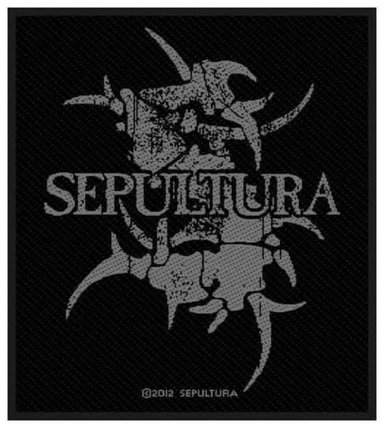 SEPULTURA - Grey Logo Patch Aufnäher