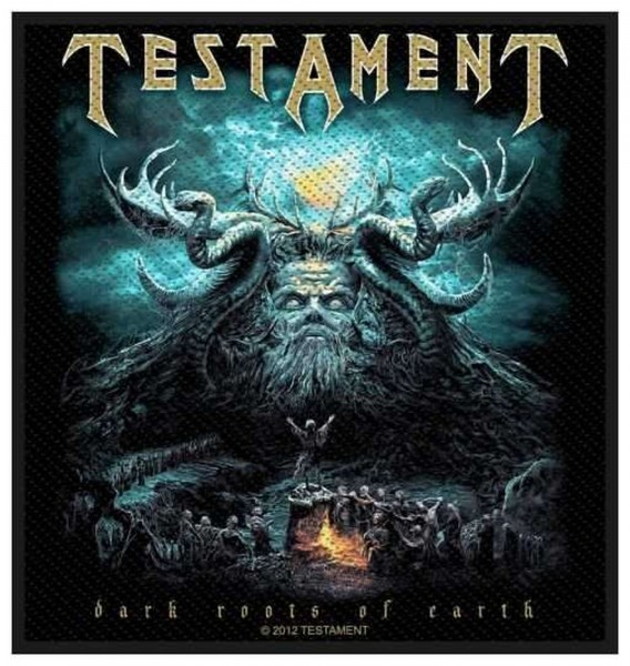 TESTAMENT - Dark Roots Of Earth Patch Aufnäher