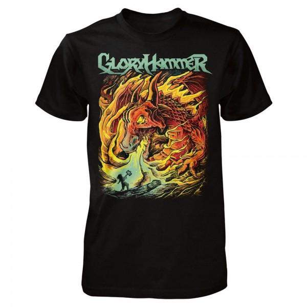 GLORYHAMMER - Dragon T-Shirt