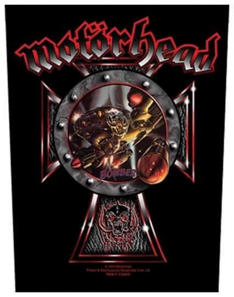 MOTÖRHEAD - Celtic Cross Bomber Backpatch Rückenaufnäher