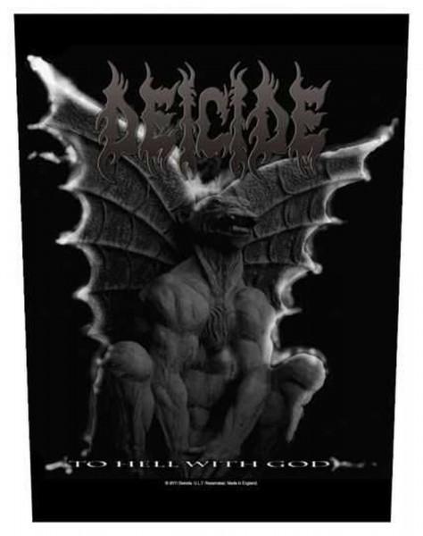 DEICIDE - Gargoyle Backpatch Rückenaufnäher