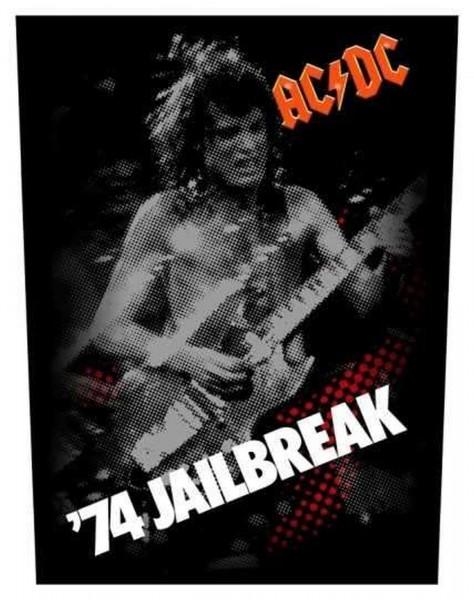 AC/DC - 74 Jailbreak Backpatch Rückenaufnäher