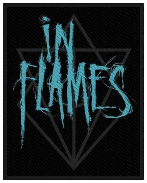 IN FLAMES - Scratched Logo Patch Aufnäher