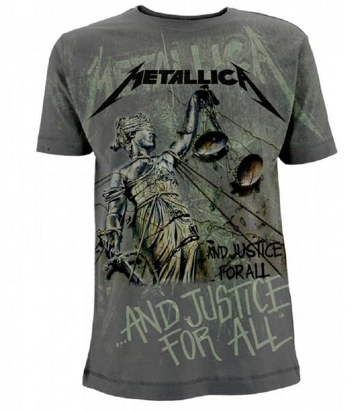 METALLICA - Justice Neon All Over (Jumbo Print) T-Shirt