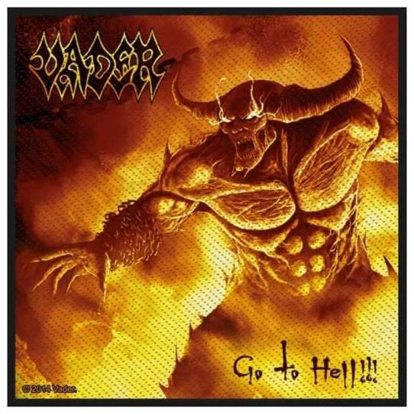 VADER - Go To Hell Patch Aufnäher