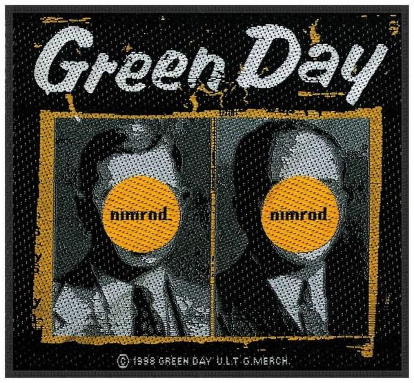 GREEN DAY - Nimrod Patch Aufnäher