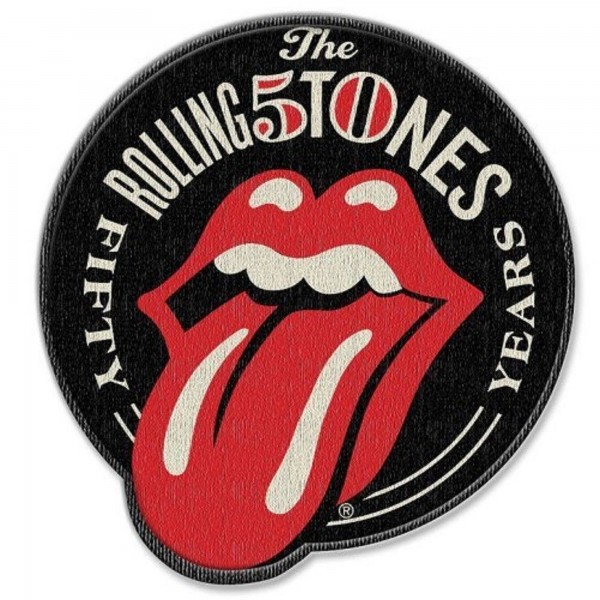 THE ROLLING STONES - 50 Years Patch Aufnäher