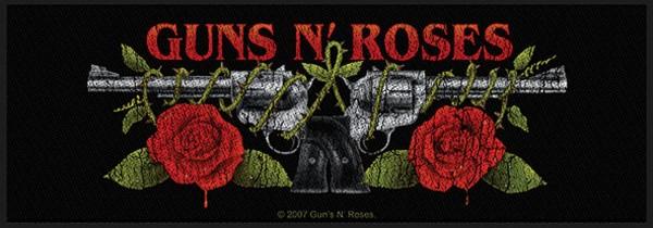 GUNS N´ROSES - Logo Patch Aufnäher Superstrip