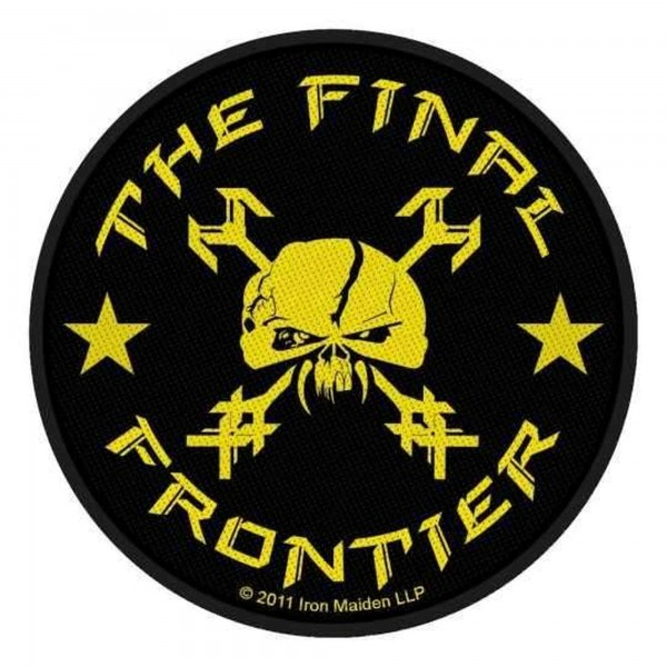 IRON MAIDEN - The Final Frontier Patch Aufnäher