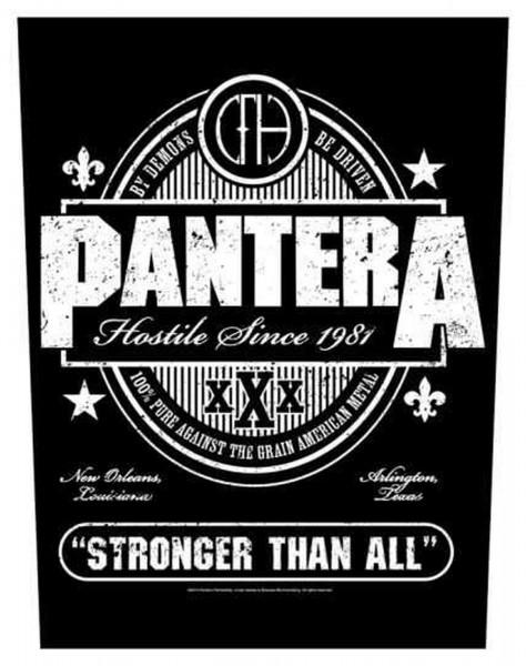 PANTERA - Stronger Than All Backpatch Rückenaufnäher