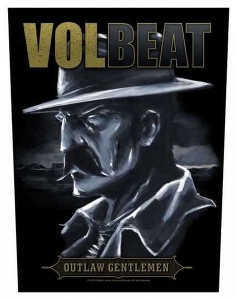VOLBEAT - Outlaw Gentlemen Backpatch Rückenaufnäher