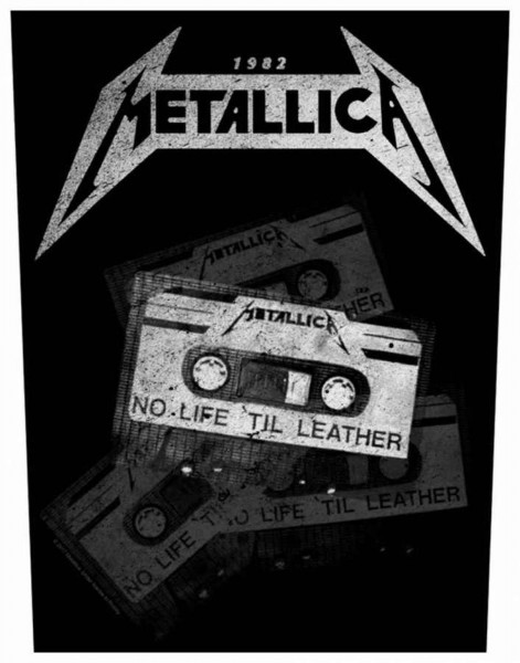 METALLICA - No Life ´Til Leather Backpatch Rückenaufnäher