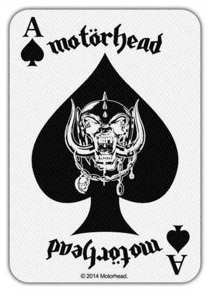 MOTÖRHEAD - Ace Of Spades Card Patch Aufnäher