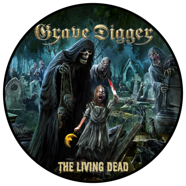 GRAVE DIGGER - The Living Dead Patch Aufnäher