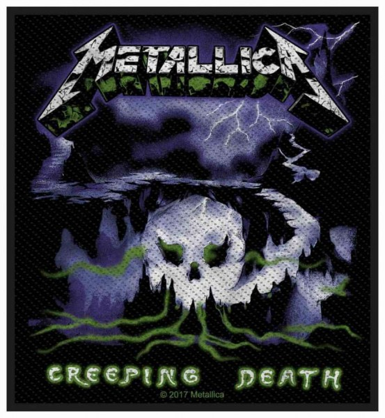 METALLICA - Creeping Death Patch Aufnäher