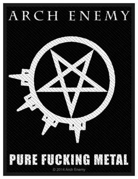 ARCH ENEMY - Pure Fucking Metal Patch Aufnäher