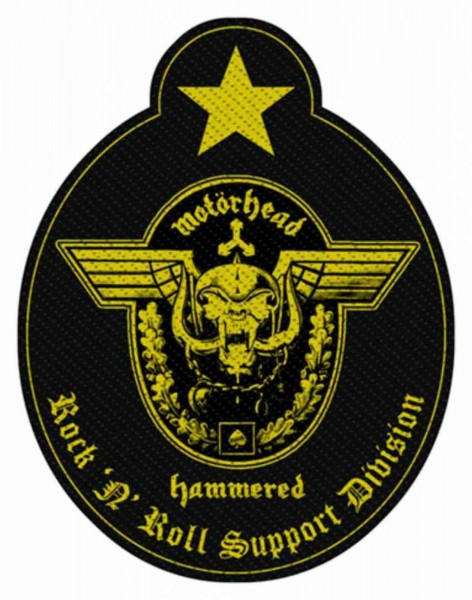 MOTÖRHEAD - Support Division Patch Aufnäher