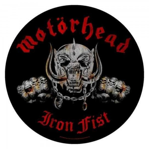 MOTÖRHEAD - Iron Fist Backpatch Rückenaufnäher
