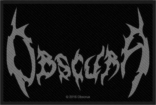 OBSCURA - Logo Patch Aufnäher