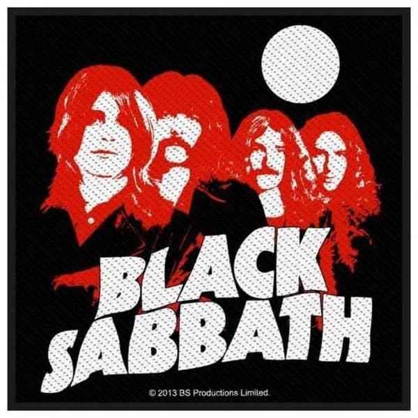 BLACK SABBATH - Red Portraits Patch Aufnäher