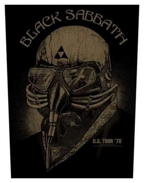 BLACK SABBATH - US Tour 1978 Backpatch Rückenaufnäher