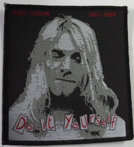 NIRVANA - Kurt Cobain Patch Aufnäher