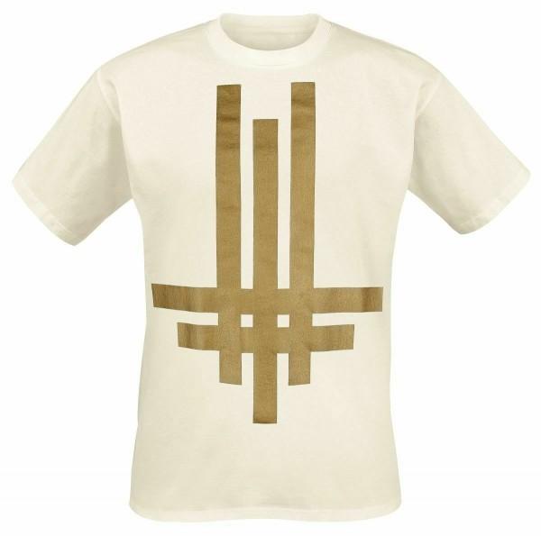 BEHEMOTH - Tri Cross White T-Shirt