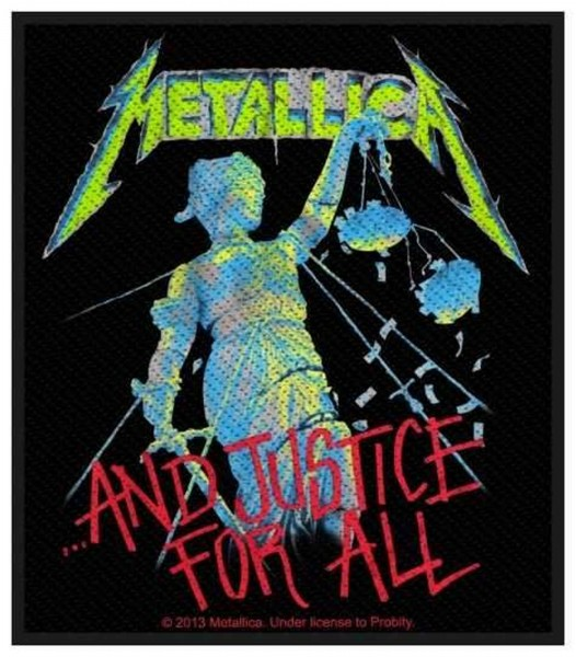 METALLICA - And Justice For All Patch Aufnäher