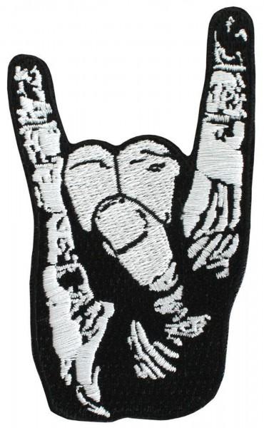 EVIL HAND - Pommesgabel Patch Aufnäher